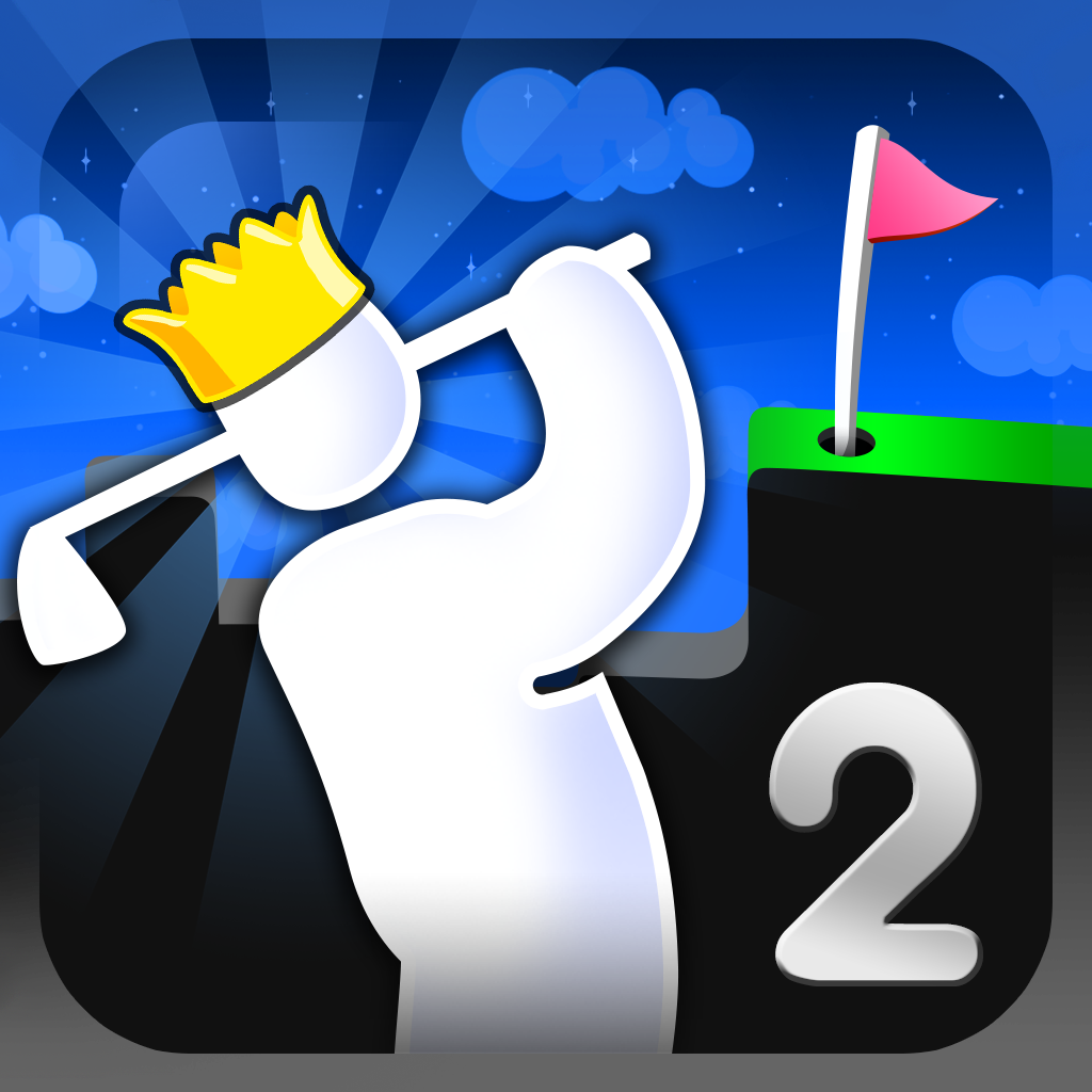 Super Stickman Golf 2 by Noodlecake Studios Inc icon